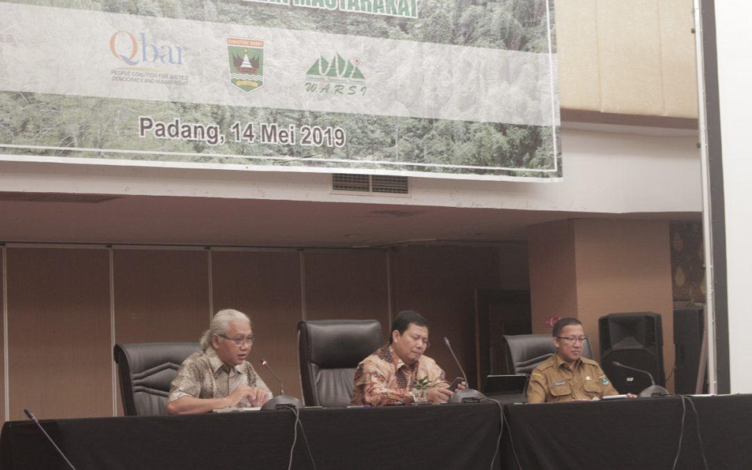Sumatera Barat Terbitkan Pergub, KLHK Serahkan Bantuan