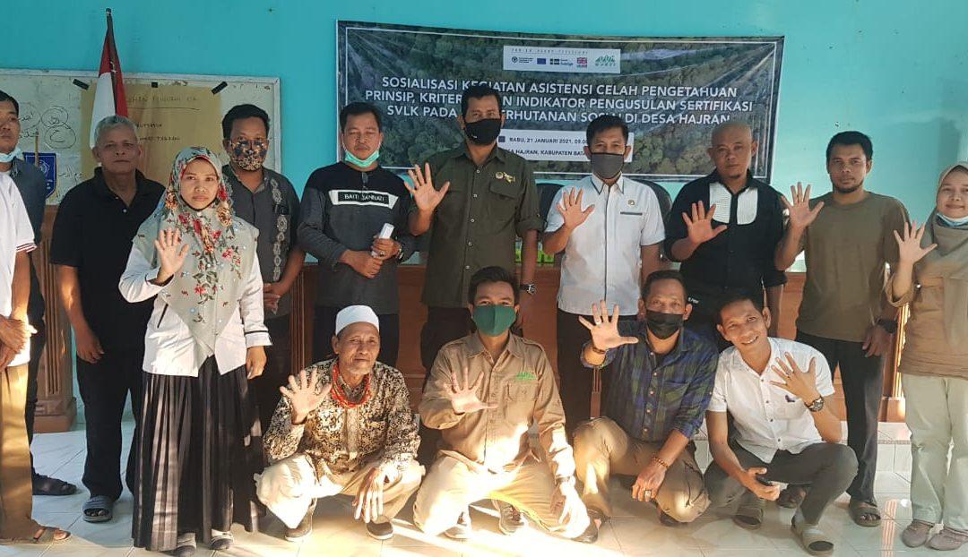 KKI Warsi bersama KPHP Batanghari adakan Sosialisasi Sistem Verifikasi Legalitas Kayu