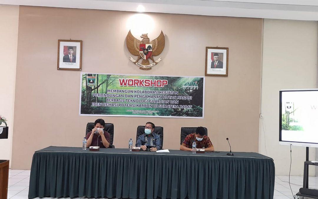 Kolaborasi Perlindungan dan Pengamanan Hutan Berbasis Teknologi dan Identifikasi Potensi Karbon di Sumbar